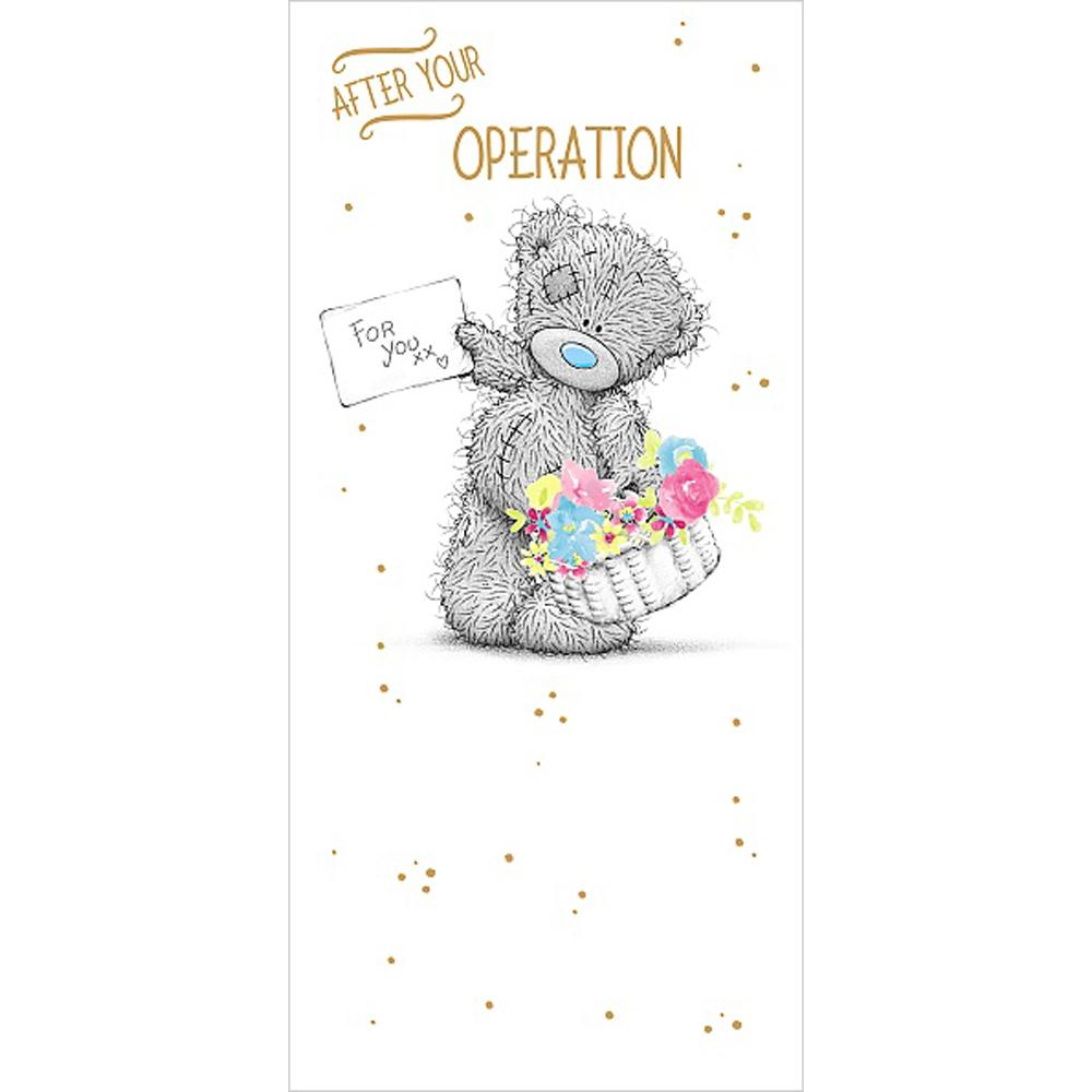 After Your Operation Get Well Soon Me to You Bear Card