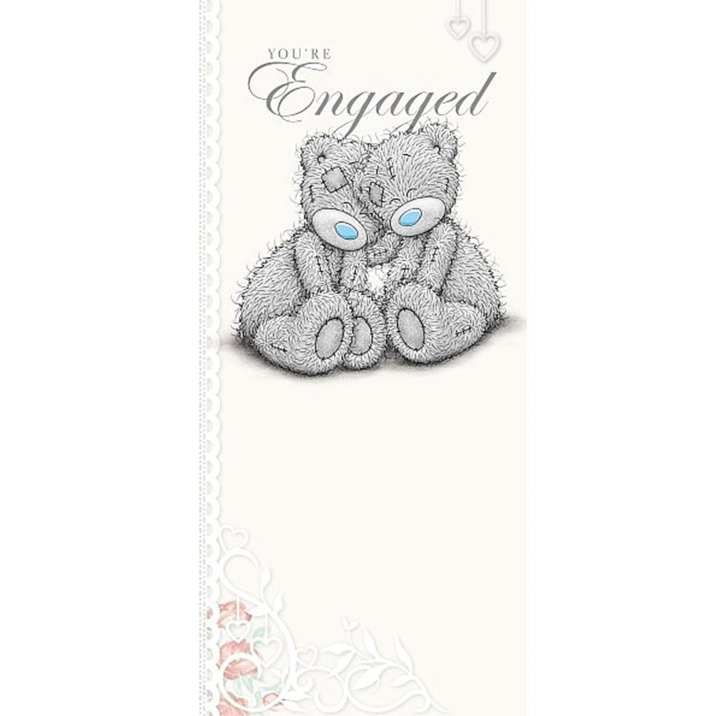 Me to You Bear Engagement Card (A01ZS169) : Me to You