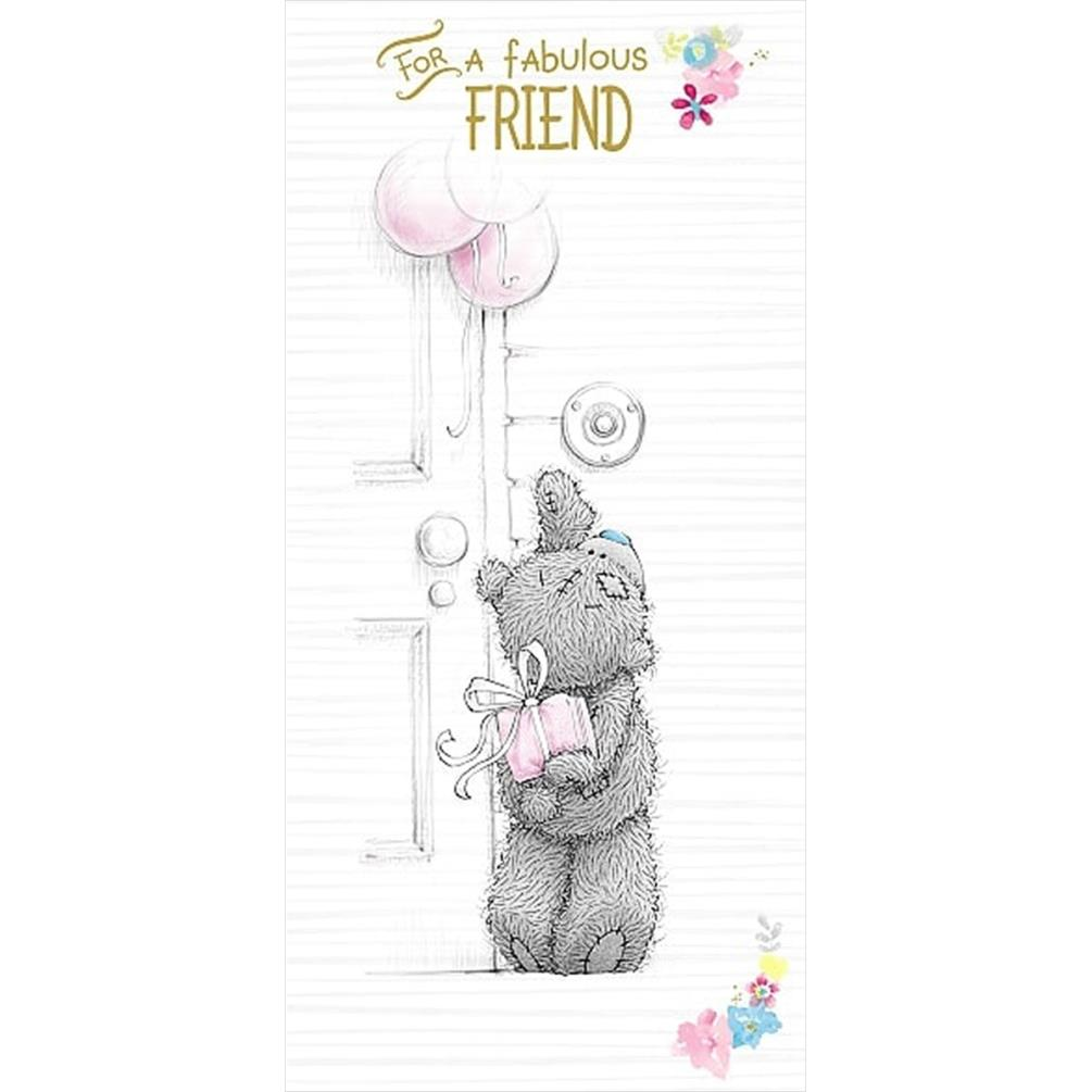 Fabulous Friend Me to You Bear Birthday Card (A01ZS172