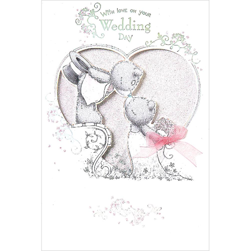 On Your Wedding Day Handmade Me To You Bear Wedding Day