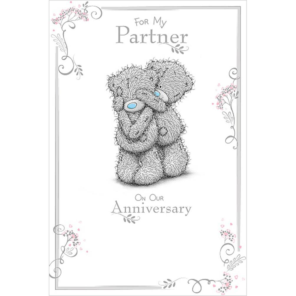 Partner Anniversary Me To You Bear Card (ASM01007) : Me to