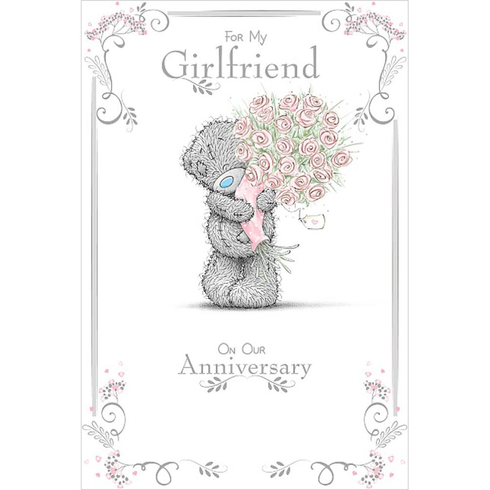 Girlfriend Anniversary Me To You Bear Card (ASM01011) : Me