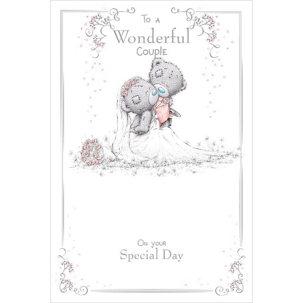Wonderful Couple Me To You Bear Wedding Day Card (ASM01046