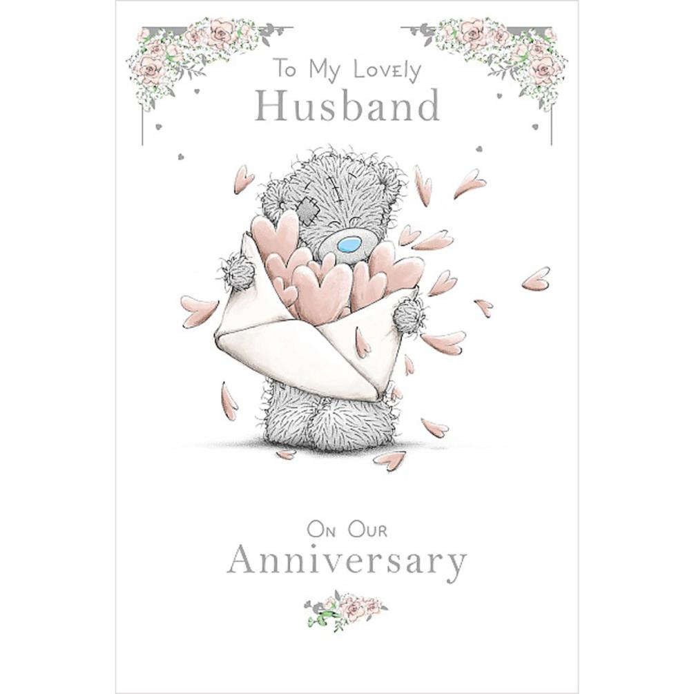 Lovely Husband Me to You Bear Anniversary Card (ASM01130
