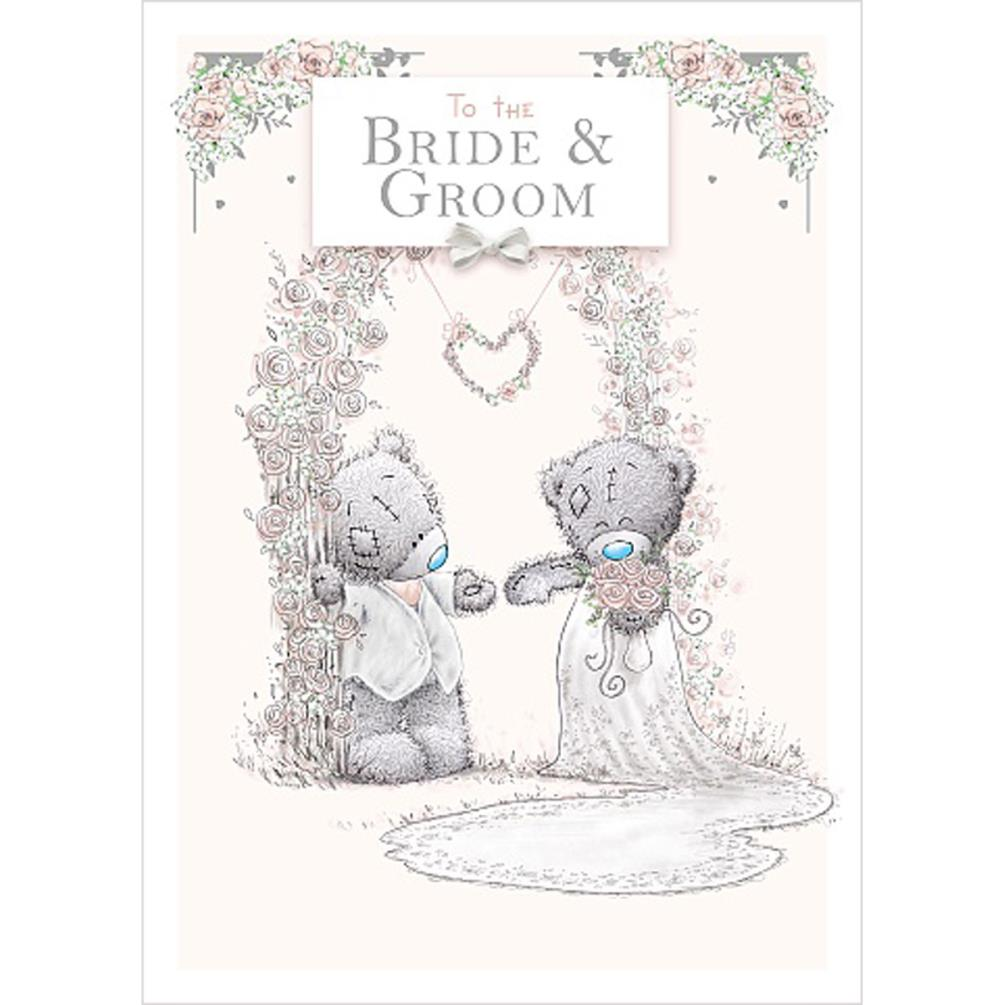 Bride & Groom Me to You Bear Wedding Day Card (ASS01130
