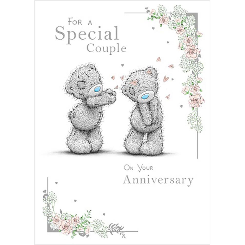 Special Couple Me to You Bear Anniversary Card (ASS01131