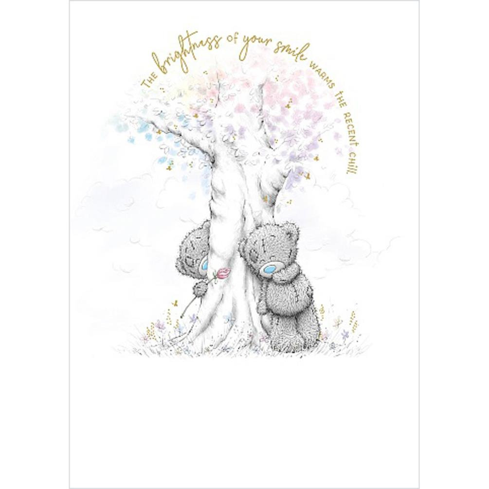 Bears Playing Around Tree Me to You Bear Card (ASS01157