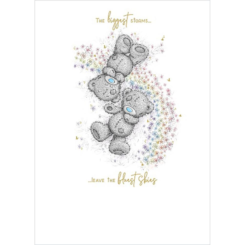 Bears Laying In Flowers Me to You Bear Card (ASS01159