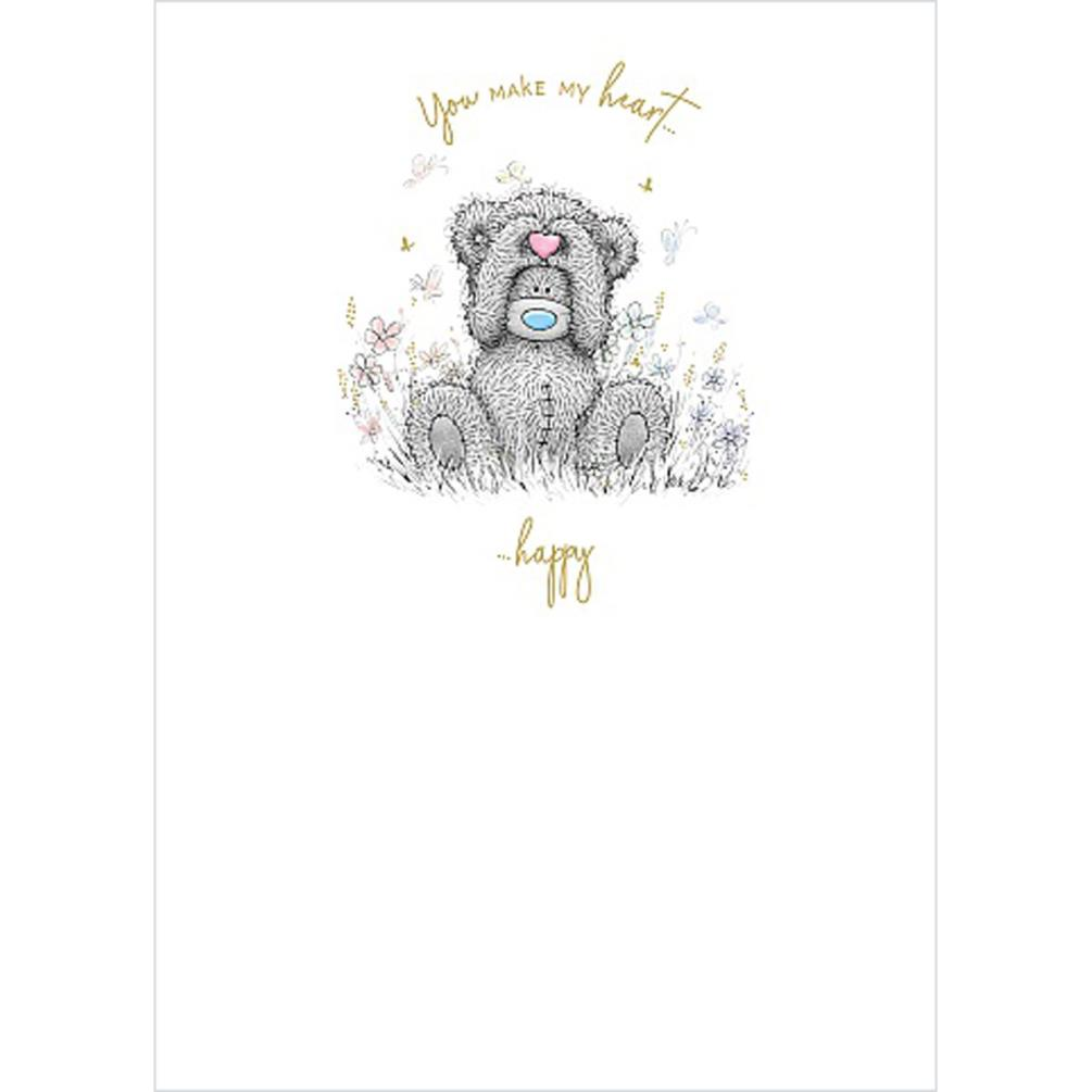 Bear Holding Heart Me to You Bear Card (ASS01172) : Me to