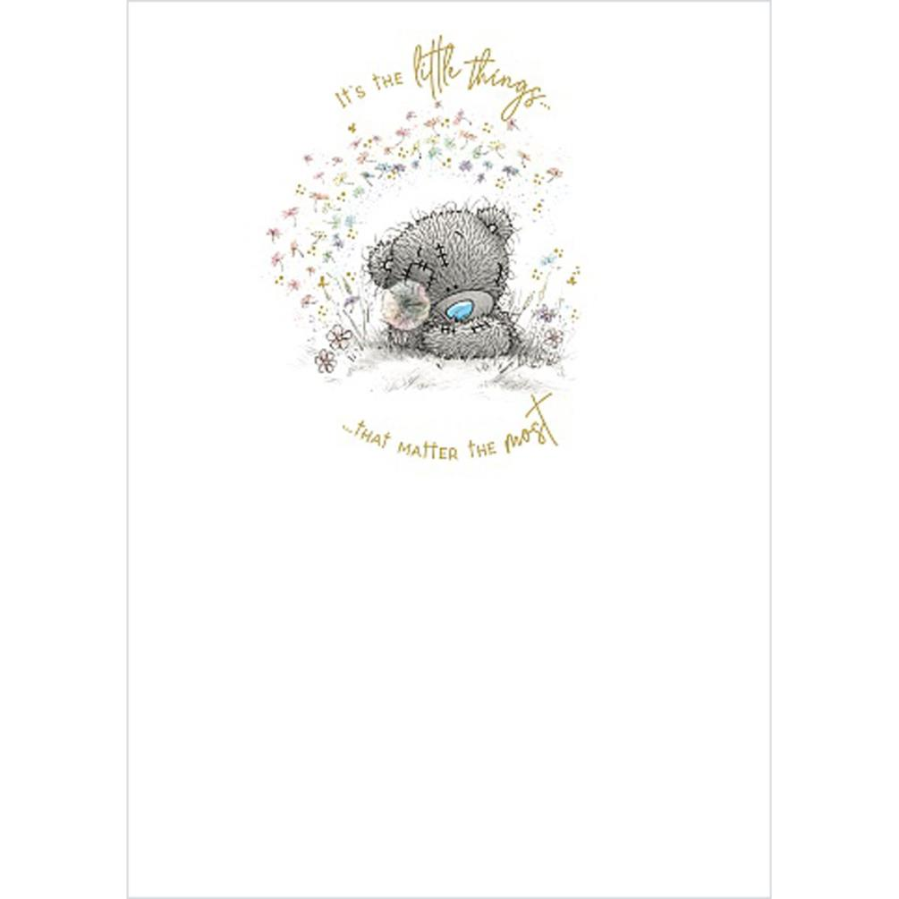 Bear and Dandelion Me to You Bear Card (ASS01173) : Me to