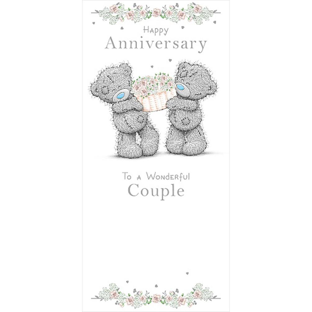 Wonderful Couple Me to You Bear Anniversary Card (ASZ01026
