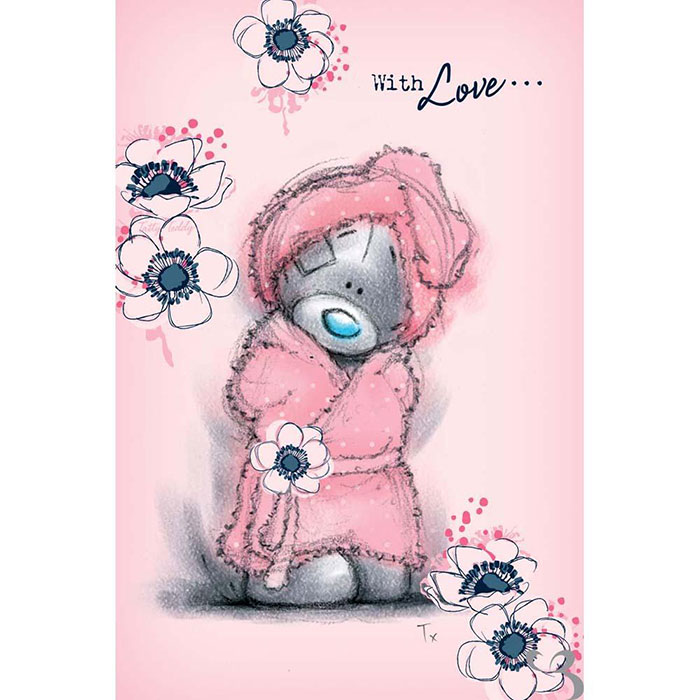 Tatty Teddy In Dressing Gown Me To You Bear Mothers Day