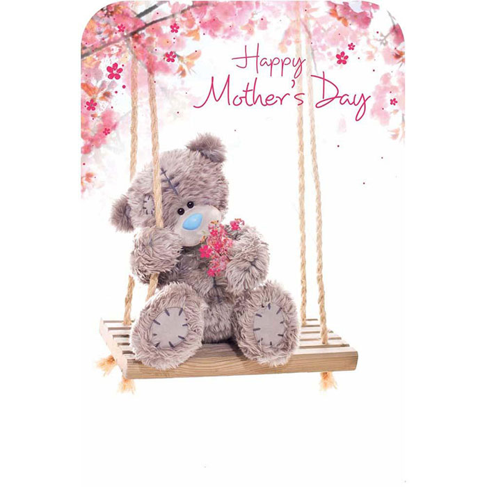 Happy Mothers Day Photo Finish Me To You Bear Card