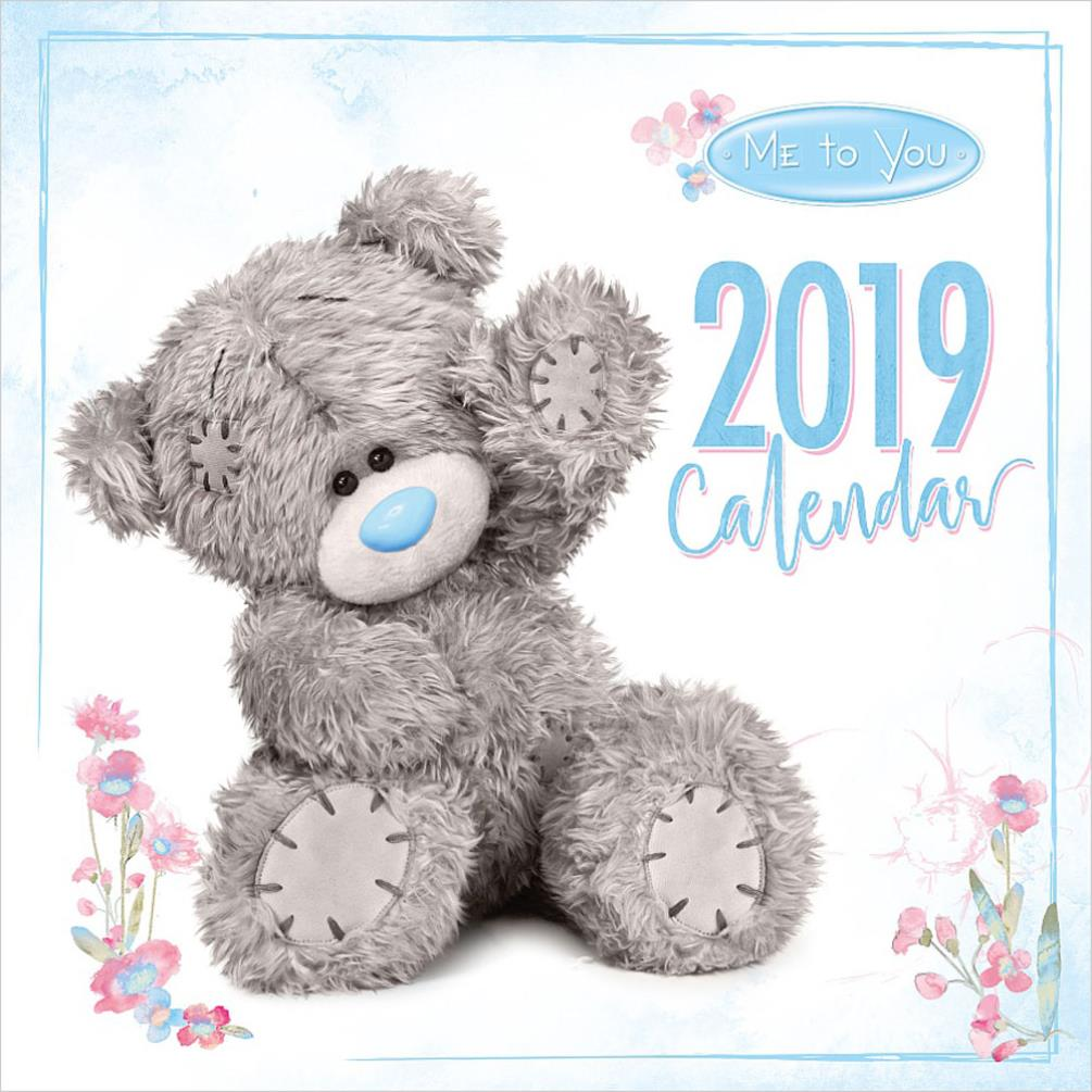 2019 Me To You Bear Photo Finish Square Calendar XCW93001
