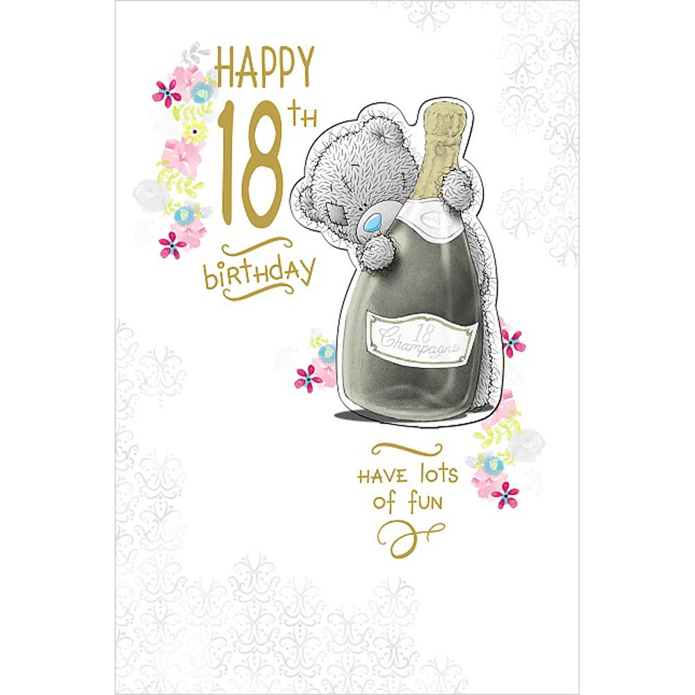 Happy 18th Birthday Me To You Bear Card A01MZ084 Me To