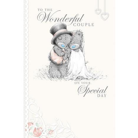 Wonderful Couple Me to You Bear Wedding Card (A01MN129