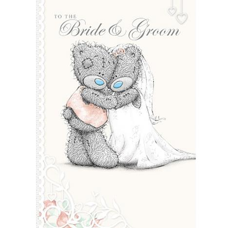 Bride & Groom Wedding Day Me to You Bear Card (A01SS528