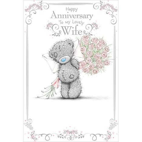 Lovely Wife Me to You Bear Anniversary Card (ASM01006