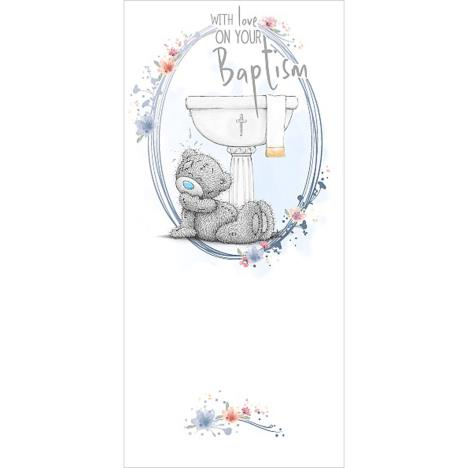 On Your Baptism Me To You Bear Card (ASZ01004) : Me to You