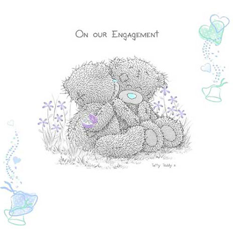 Me to You Bear Engagement Invitations (AYXSS030) : Me to