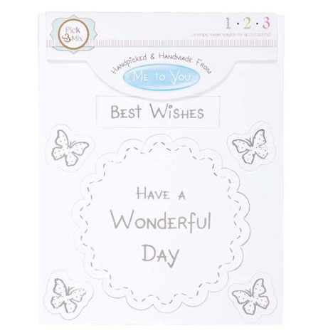 Best Wishes Occasions Verse & Greeting Insert (MTY310212