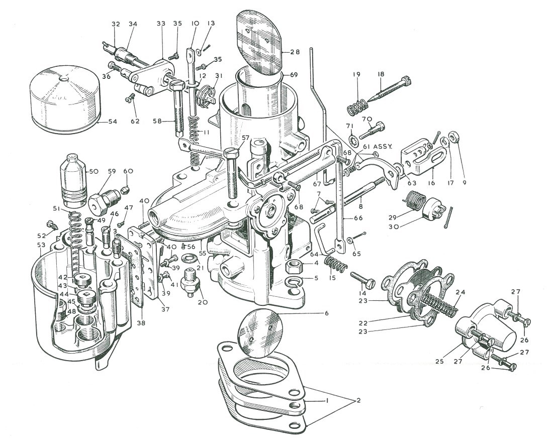 Nash Metropolitan Fuel System Parts