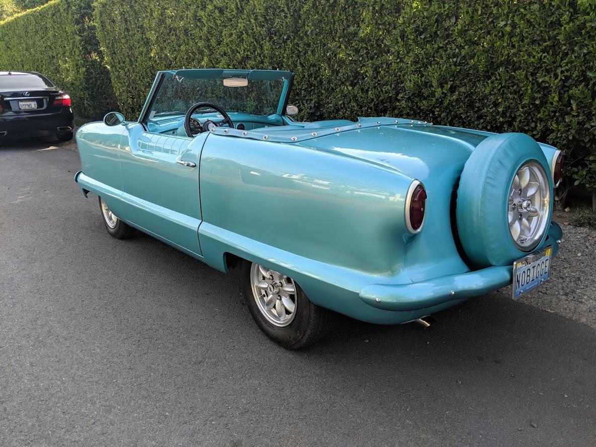 hight resolution of  sold 1954 hudson metropolitan custom convertible 35 000