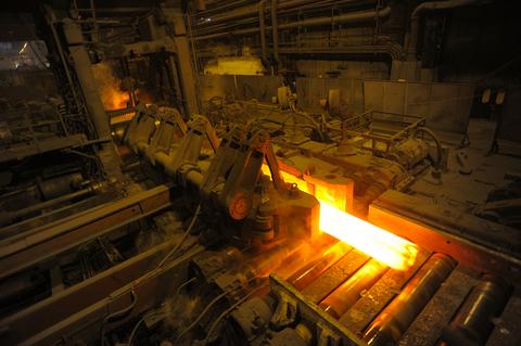 Traitement de surface de pices de siderurgie