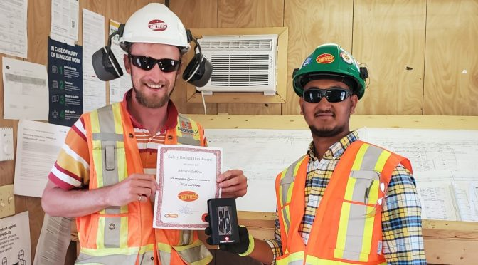 Safety award