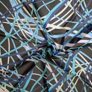 Chiffon soft – astratto toni blu