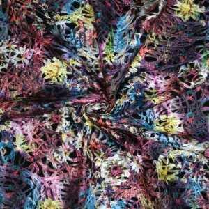 Tessuto agugliato multicolor