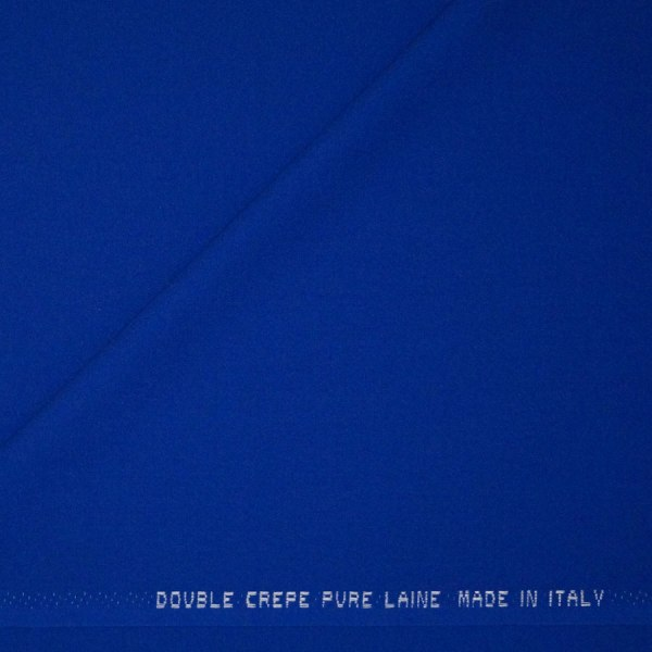 Double crepe bluette
