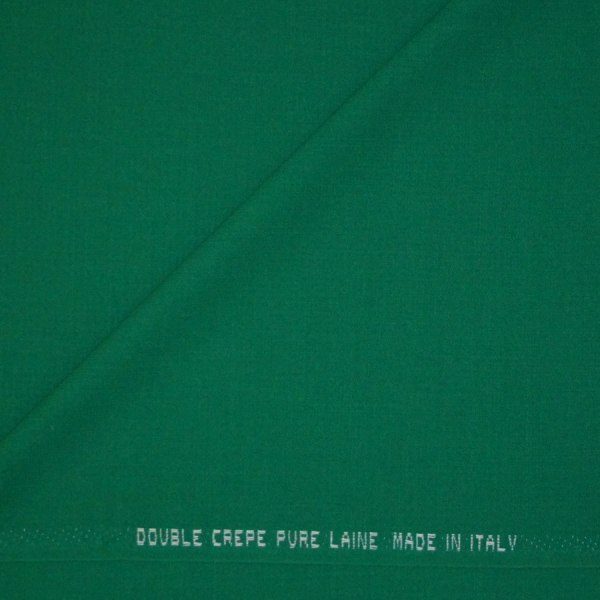 Double crepe verde bandiera