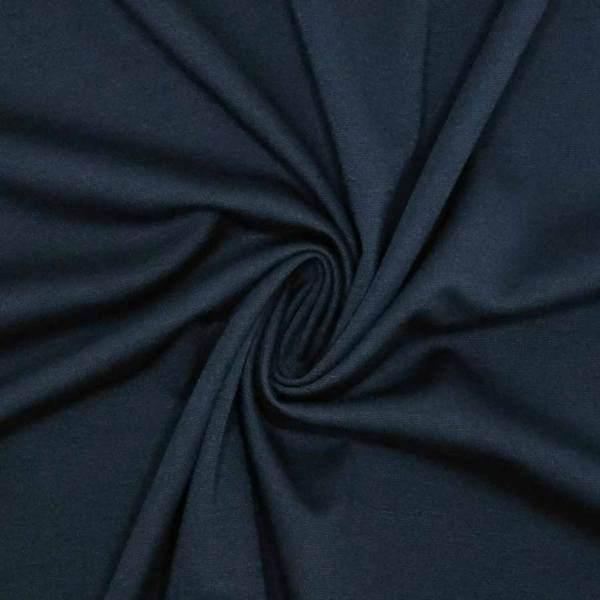Jersey punto milano blu