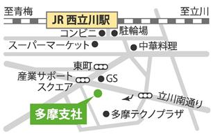 会場への地図2
