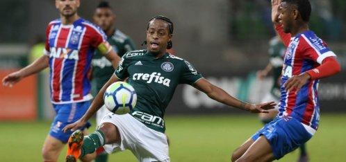 [Bahia perde para o Palmeiras por 3 a 0 e continua na zona de rebaixamento]