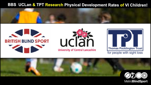 BBS UCLan & TPT Research Together! – Metro Blind Sport