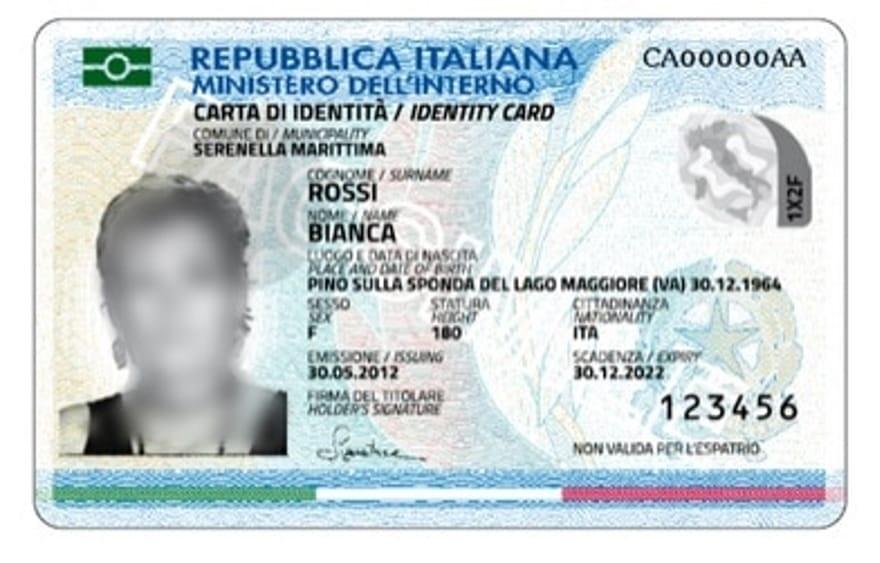 Carta Di Identità Elettronica Il Servizio Parte A Ottobre