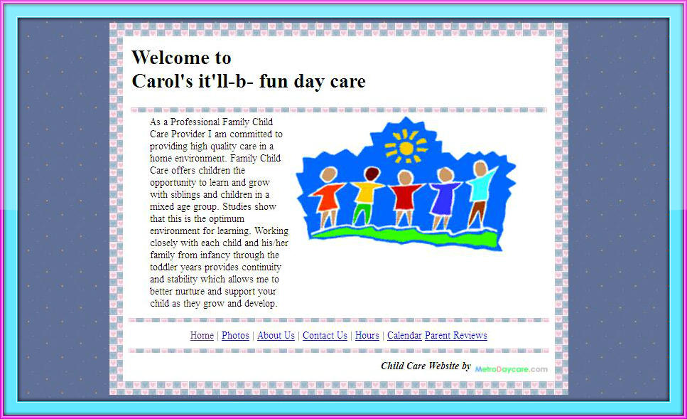 Child Day Care Centers Home daycare  family child care