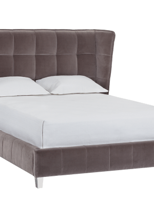 CADAM BED – KING – GIOTTO GREY FABRIC