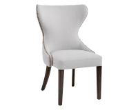 ARIANA DINING CHAIR – LIGHT GREY FABRIC