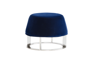 CAVO OTTOMAN – SMALL – GIOTTO NAVY FABRIC