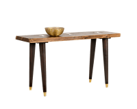 ATLAS CONSOLE TABLE – LIVE EDGE