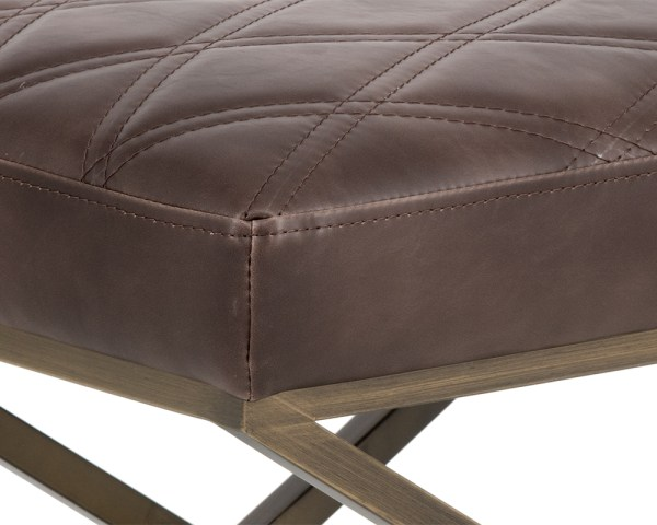 WISCONSIN BENCH – HAVANA DARK BROWN