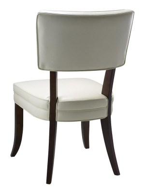 AMELIA DINING CHAIR – IVORY LEATHER