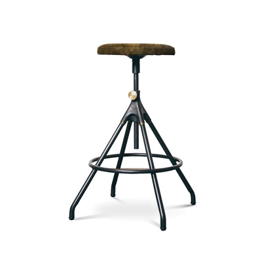 Akron Adjustable Stool Jin Green