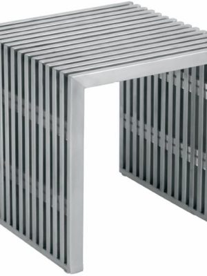 Amici Jr. Occasional Bench Silver