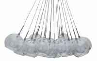 Aura Pendant Lighting Clear