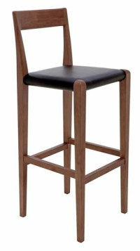 Ameri Bar Stool Black