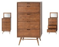 Case Dresser Cabinet Walnut